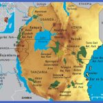 eastafricamap 150x150 Tanzania Map Tourist Attractions