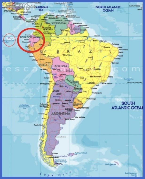 ecuador metro map  1 Ecuador Metro Map