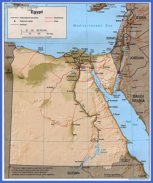 egypt map  0 Egypt Map