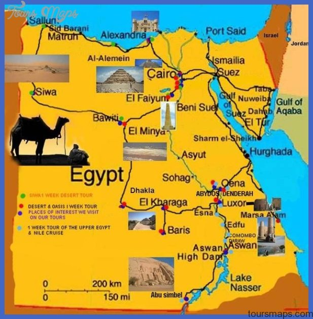 Egypt Map Africa Archives Toursmaps Com