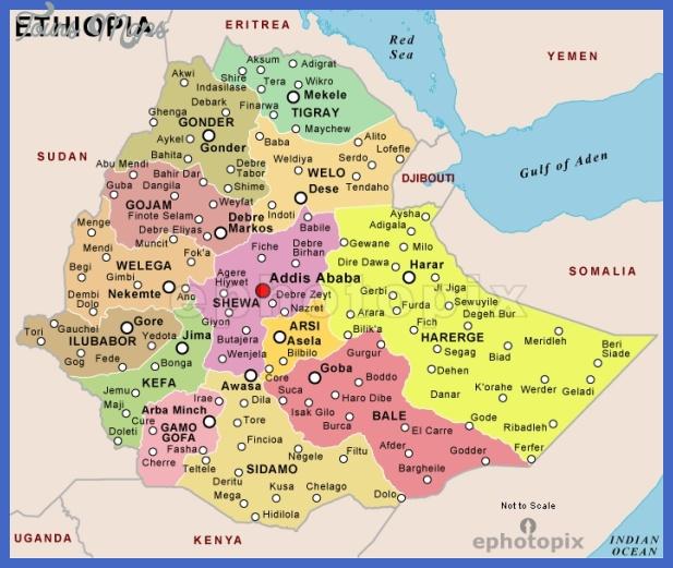ethiopia political map Ethiopia Map