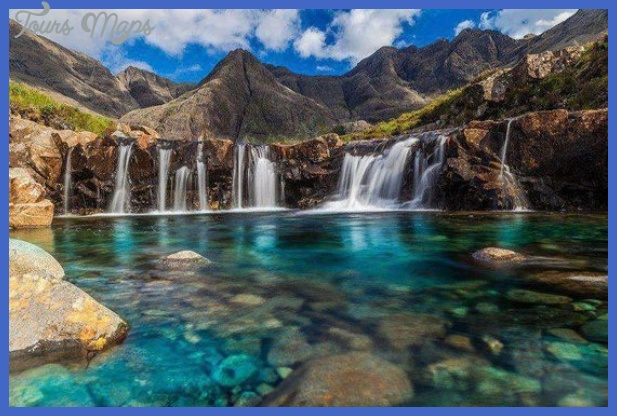 fairy pools at the top isle of skye scotland Best places in Hawaii to visit
