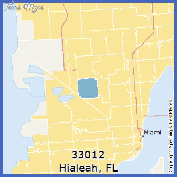 fl hialeah 33012 Hialeah Metro Map
