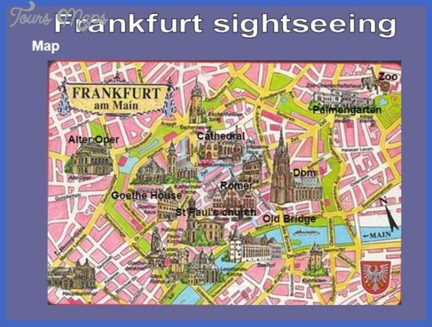 frankfurt sightseeing authorstream Frankfurt Subway Map