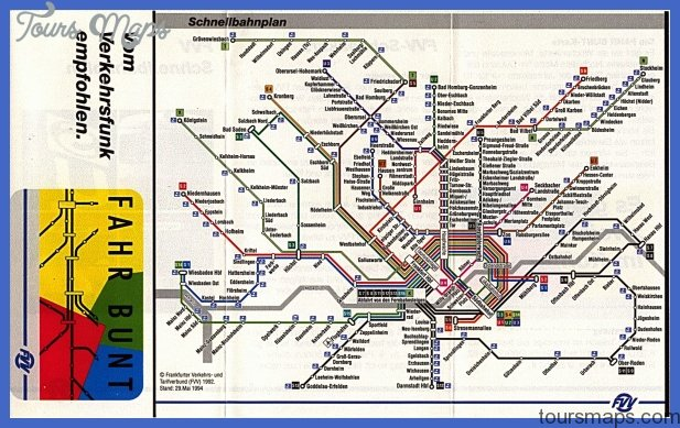 frankfurt subway map  2 Frankfurt Subway Map