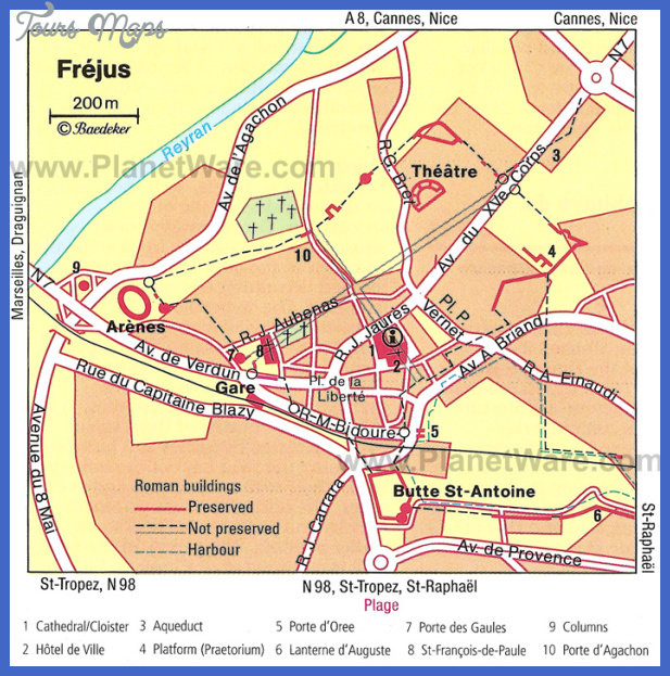frejus map Curitiba Map Tourist Attractions