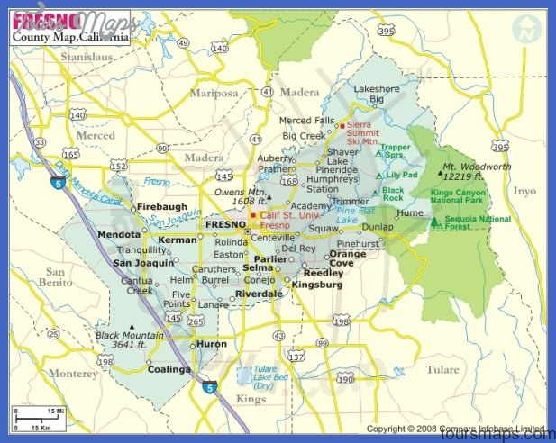 Fresno, California City Map See map details From