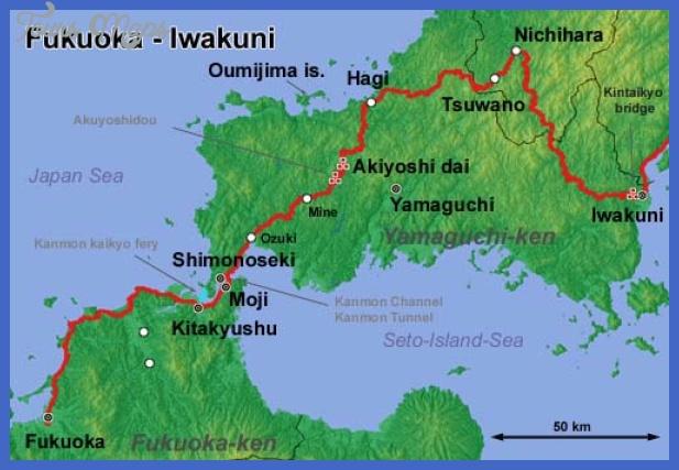 fukuoka map Fukuoka Map