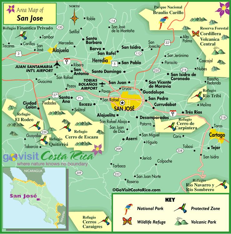 full san jose metro map 1 San Jose Map