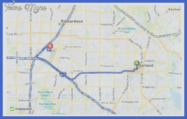 garland map Garland Map