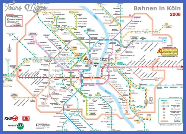 germany subway map 7 Germany Subway Map
