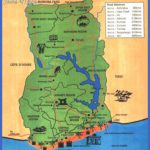 ghana tourist map thumb 150x150 Togo Map Tourist Attractions