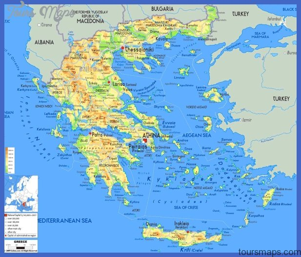 Map of Crete island, Greece Greeka.com