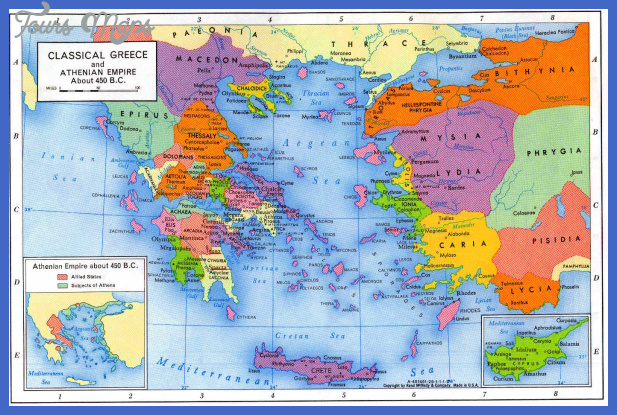 MAPS OF GREECE: HISTORICAL MAP
