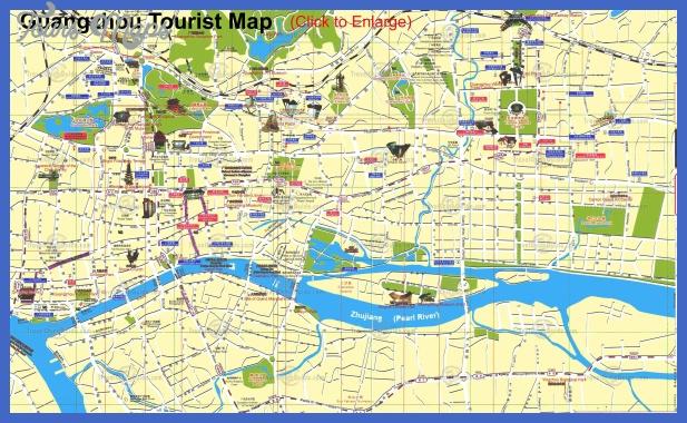 guangzhou tourist 4 Anchorage municipality Map Tourist Attractions