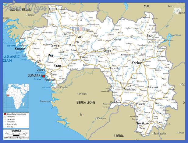 guinea map 1 Guinea Map