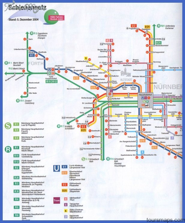 Hamburg Subway Map