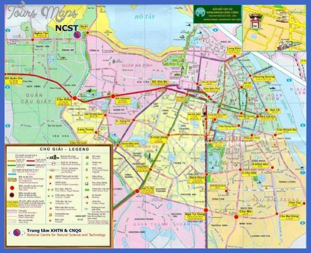 hanoi public transport map mediumthumb Vietnam Metro Map