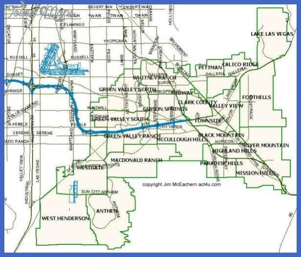 hendersonmasterplans Henderson Map Tourist Attractions