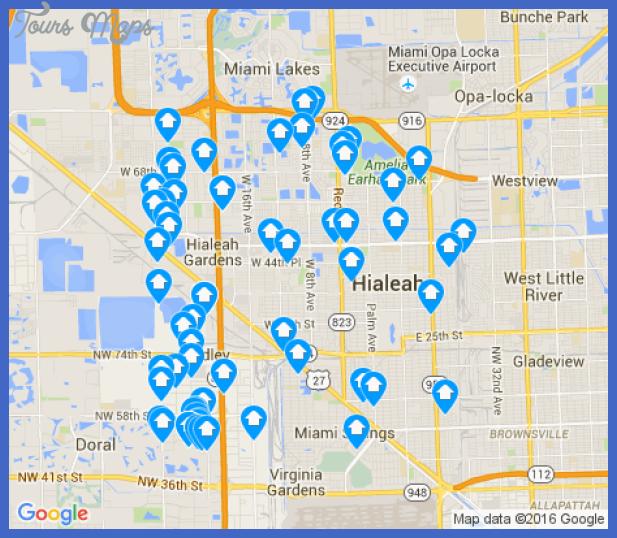 hialeah Hialeah Map