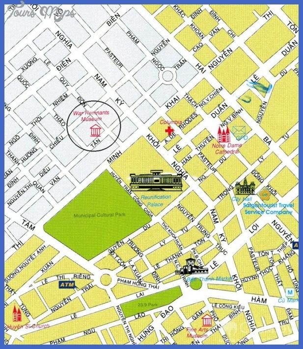 ho chi minh city map11 Ho Chi Minh City Subway Map