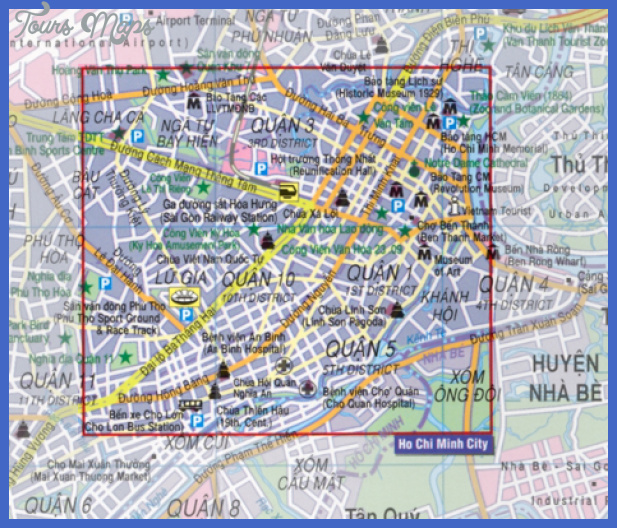 Ho Chi Minh City Flexi Map | Stanfords