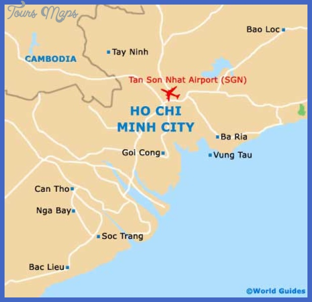 Ho Chi Minh City Maps and Orientation: Ho Chi Minh City, Red River ...