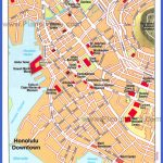 honolulu downtown map 150x150 Urban Honolulu Map Tourist Attractions
