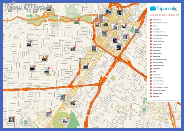 houston map tourist attractions 10 Houston Map Tourist Attractions