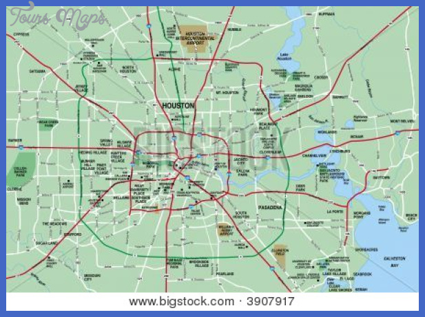 houston metropolitan area map showing major roads cg3p907917c Houston Metro Map