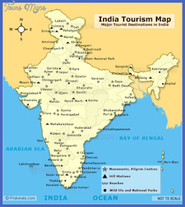 india tourist places 2 Bangalore Map Tourist Attractions