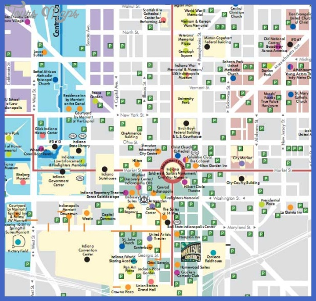 indianapolis subway map 1 Indianapolis Subway Map