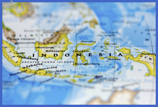 indonesia map 1 Indonesia Map