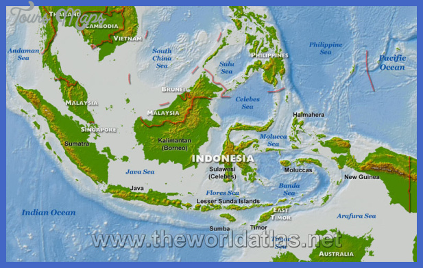 indonesia map Indonesia Map
