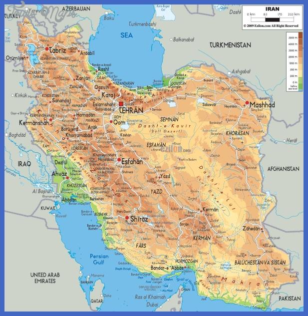 iran2 Iran Subway Map