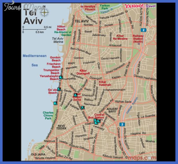 israel subway map  2 Israel Subway Map