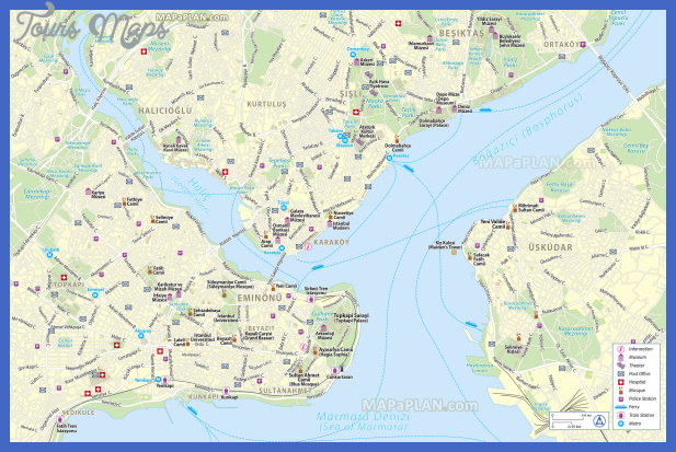 istanbul top tourist attractions map 02 free inner city centre map main landmark most popular sight great art spot mosque high resolution Turkey Map Tourist Attractions