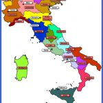 The regions of Italy