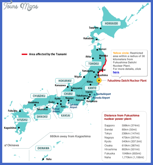 japan map tourist attractions  1 Japan Map Tourist Attractions