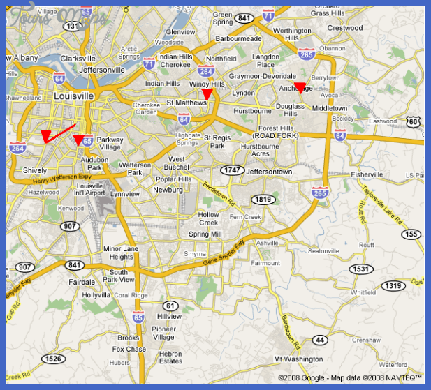 jefferson ky png Loiseville Metro Map