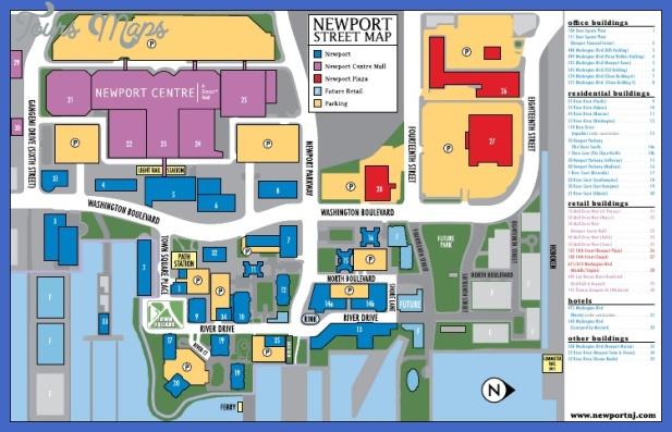 jersey city metro map  10 Jersey City Metro Map