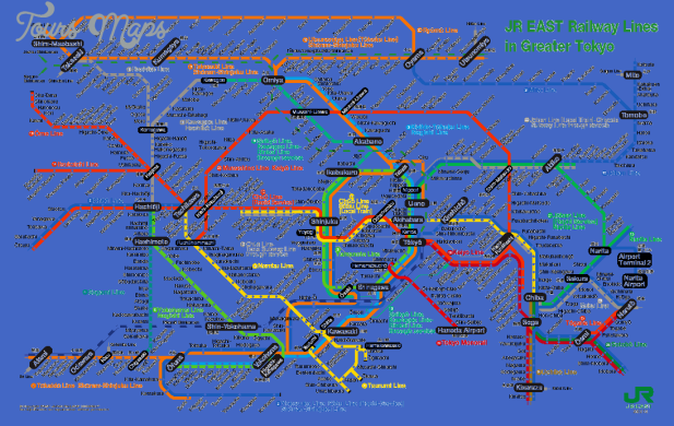 jr Jakarta Subway Map