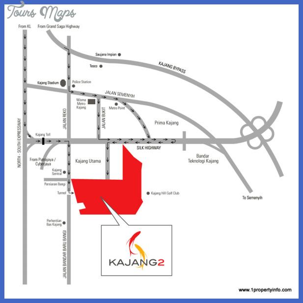kajang 2 map Malaysia Metro Map