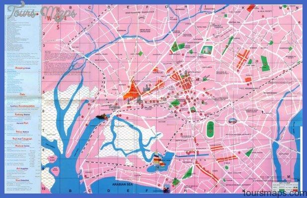 karachi map 0 Kinshasa Metro Map