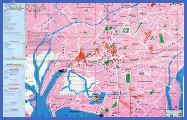 karachi map  0 Karachi Map