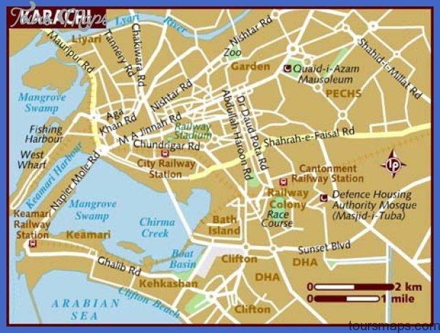 karachi map  1 Karachi Map
