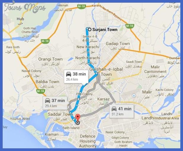 karachi metro map  7 Karachi Metro Map