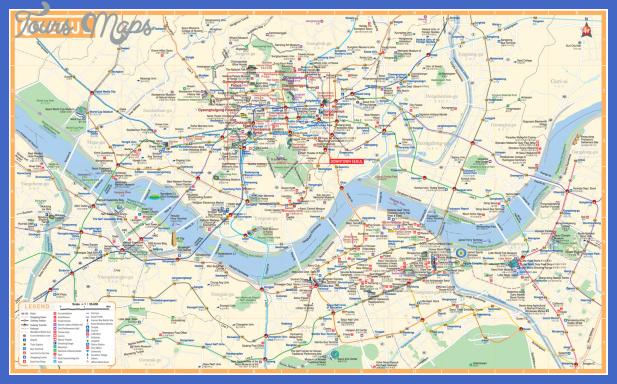karta over seoul 2 Seoul Map Tourist Attractions