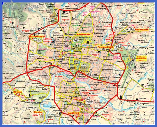 kathmandu Rwanda Subway Map