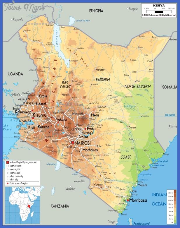 kenya map  3 Kenya Map